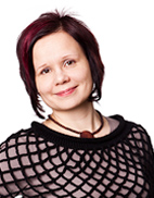 SAMKin viestintä- ja markkinointisuunnittelija Inna Saarinen.
