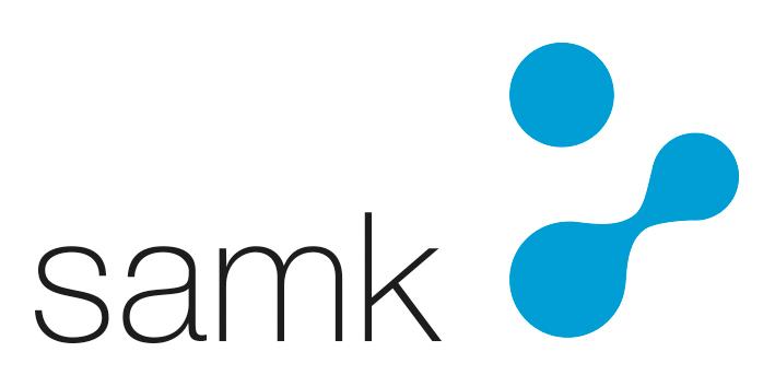 Satakunnan ammattikorkeakoulu (SAMK) - liikemerkki, väri