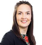 SAMKin viestintä- ja markkinointisuunnittelija Elina Valkama.