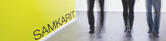 Samkarit blog cover photo where students walks on the hallway