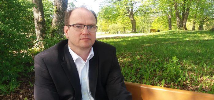 SAMKin lehtori Peter Sandell.