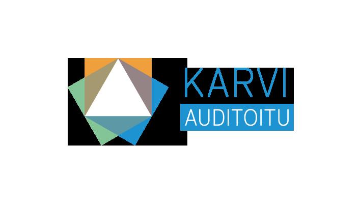 Karvi auditoitu logo.
