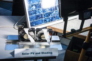 SAMKin aurinkoenergiajärjestelmän demoja.