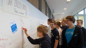 Seitsemäsluokkalaiset pelastamaan Itämerta