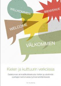 Kielen ja kulttuurin verkoissa SAMK julkaisu kansi