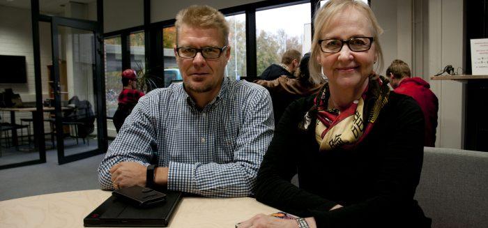 Anssi Pajala ja Marina Wikman