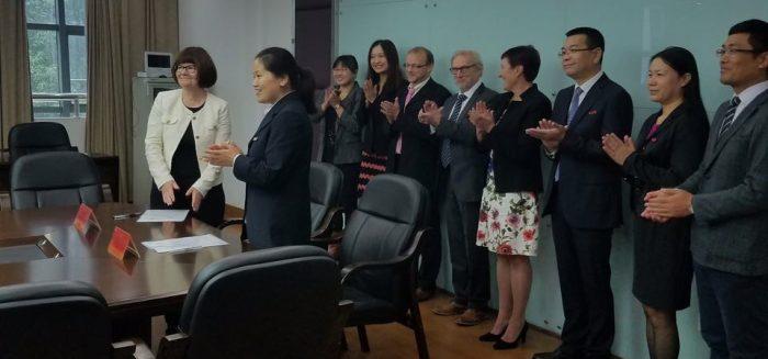 Delegaatio Changzhoun yliopistosta