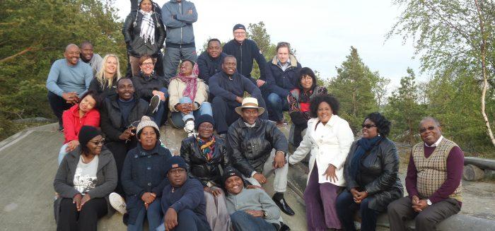 Historian suurin bisnesdelegaatio Namibiasta kävi Suomessa, muun muassa Raumalla, toukokuussa 2016.