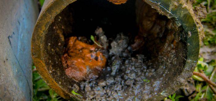 vesiputki huonossa kunnossa kuv Henrik Roms Turun AMK