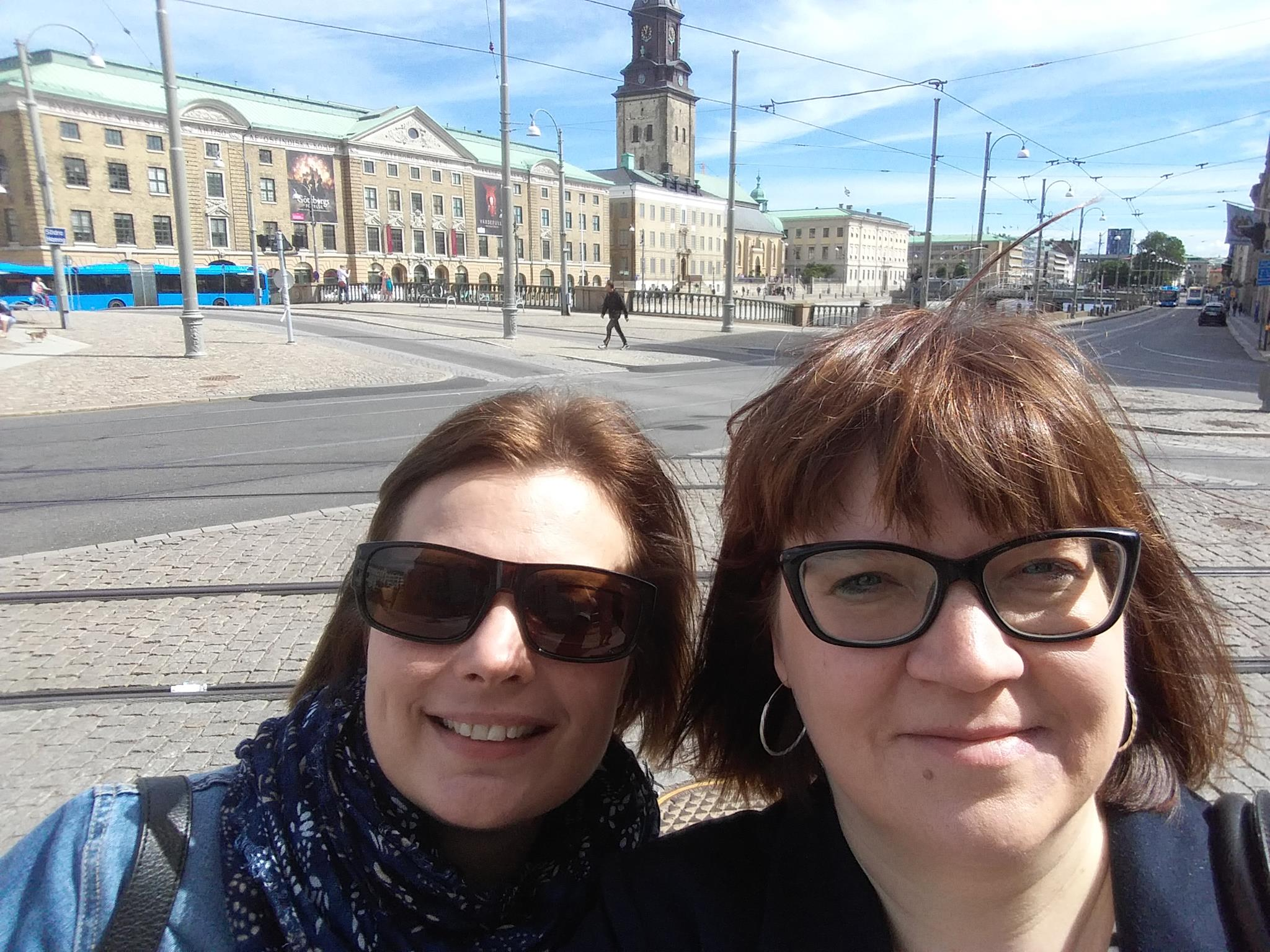 Jaana Ruoho ja Sanna-Mari Renfors, SAMK