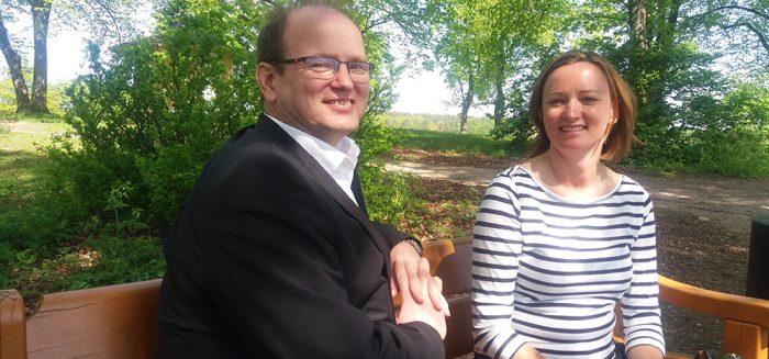 SAMKin lehtorit Peter Sandell ja Ninna Roos.
