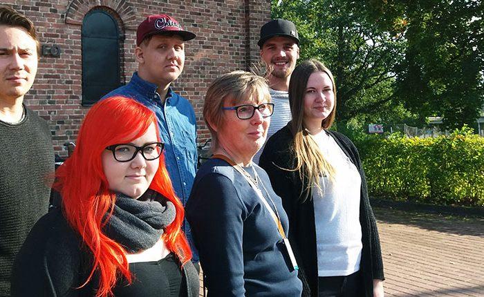 SAMK Projektiryhmä kävi Rosenlew-museolla sopimassa get together -tilaisuuden järjestelyistä.