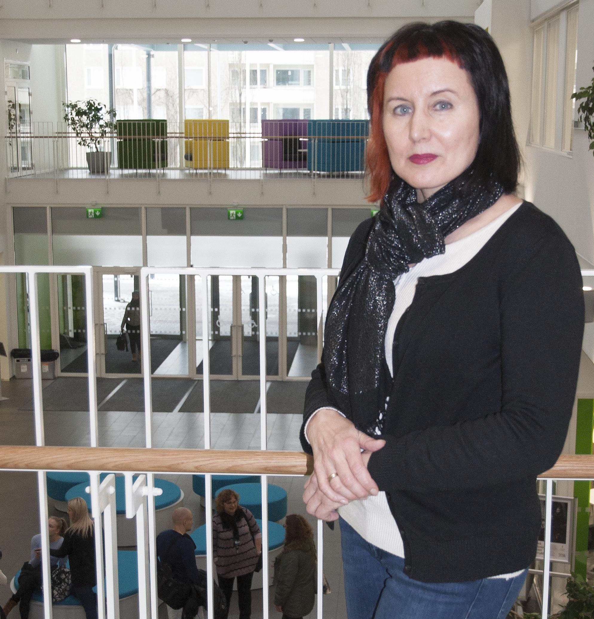 Teija Hollo on SAMK's Pori campus