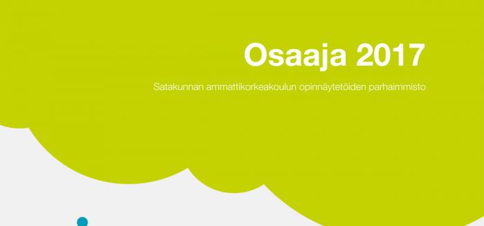 Osaaja 2017, julkaisun kansi, publication cover.