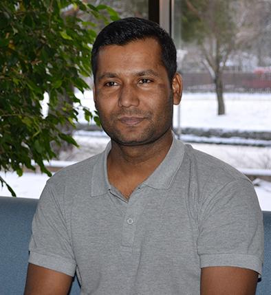 SAMKin student Ibrahim Khahil.