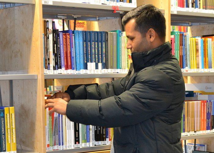 SAMK master-student Ibrahim Khalil.