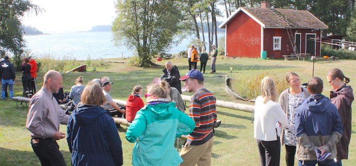 Blue Care -päivän Päivän osallistujiin kuului yrittäjiä, Turun yliopiston Rauman opettajainkoulutuslaitoksen opiskelijoita, kouluttajia ja muita aiheesta kiinnostuneita.
