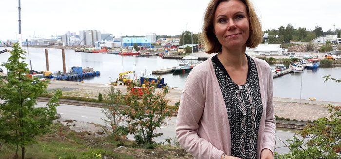 Irene Villanen Rauman matkailupäällikkökuva: Anne Sankari