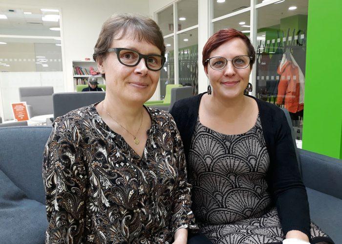 SAMK Merja Ahonen & Minna Keinänen-Toivola