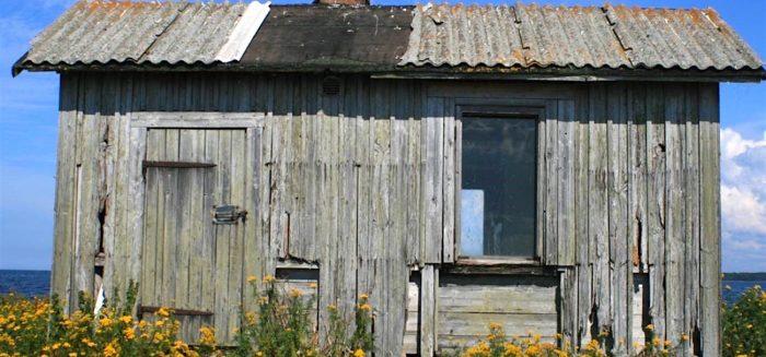 Kalamajat ovat edelleen etenkin Porin ja Luvian saaristossa keskeinen osa maisemaa, vaikka kalamajojen käyttö onkin muuttunut, kun ne eivät enää ole kalastajille välttämättömiä. (Kuva: Minna Uusiniitty-Kivimäki)