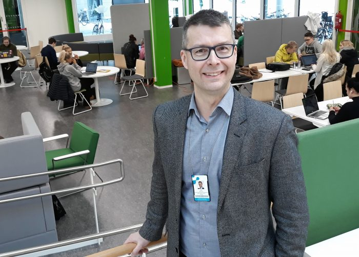 Timo Mattila opetuksen vararehtori SAMK.