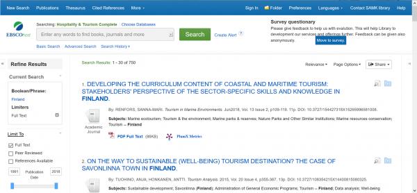 Hospitality & Tourism Complete, näytönkaappaus, screenshot.