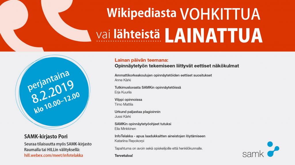 Wikipediasta vohkittua vai lähteistä lainattua, tapahtuman ohjelma, the schedule of an event.