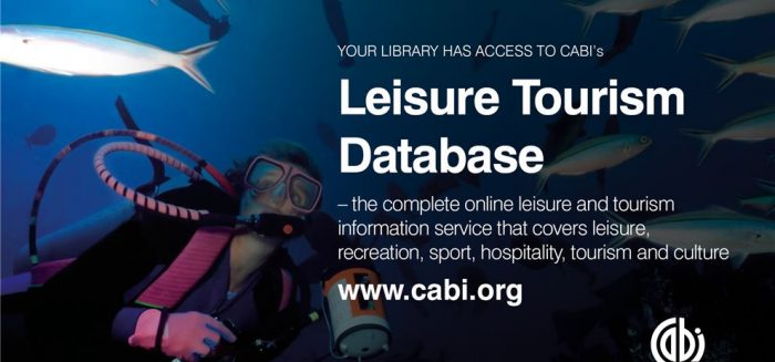 Your library has access to Leisure Tourism Database.