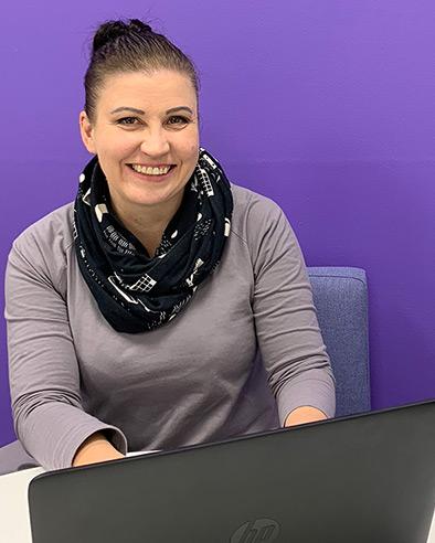 SAMK student Leni Jokela.