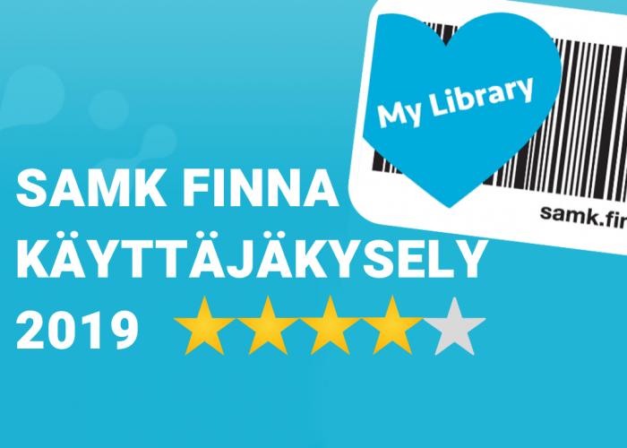 SAMK Finna käyttäjäkysely 2019
