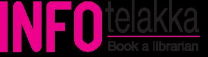 INFOtelakka, book a librarian.