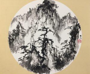 Kiinalainen maalaus.