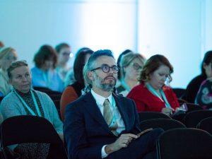 Stijn Verleyen in audience