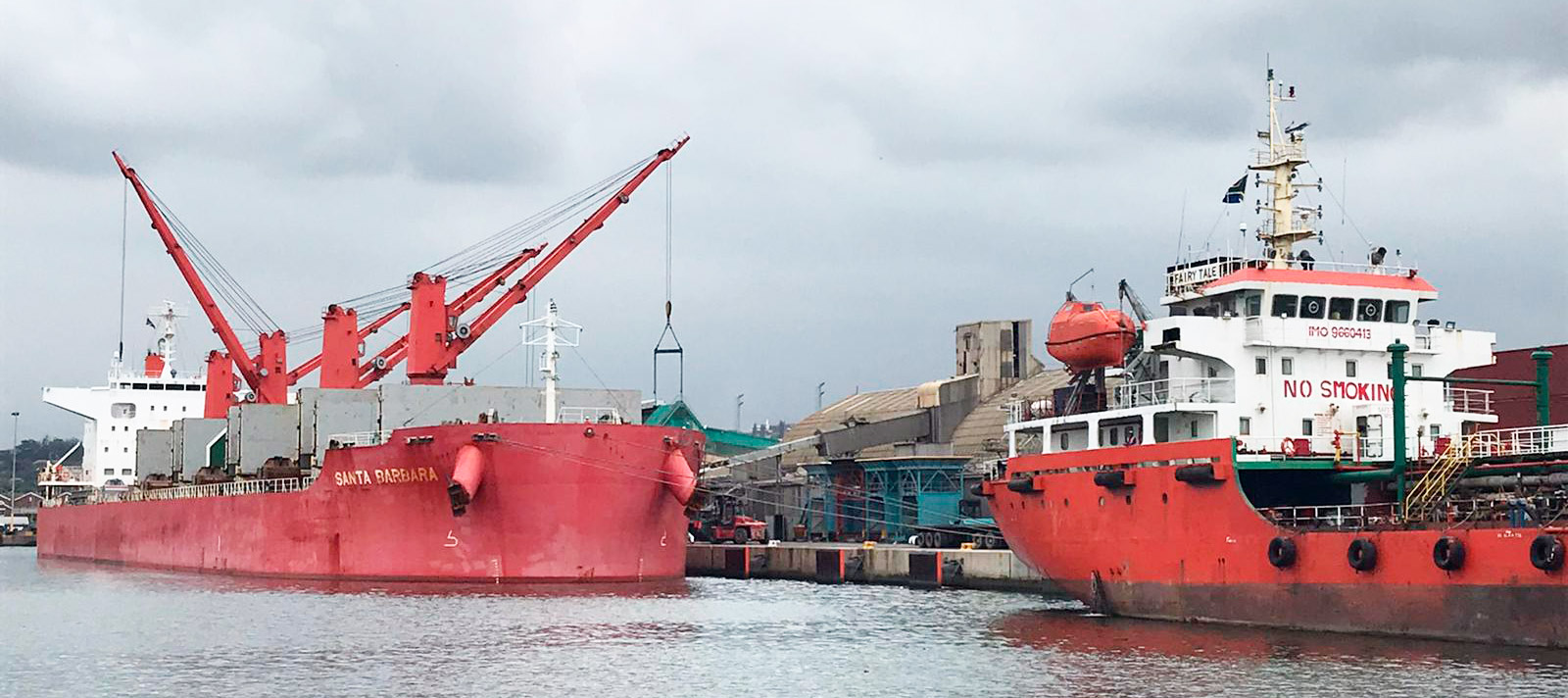 Two ships in Durban Port