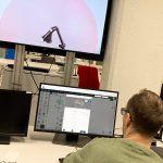 HLS-Robo -hankkeen opintomatka SAMKin RoboAI:n laboratorioon.