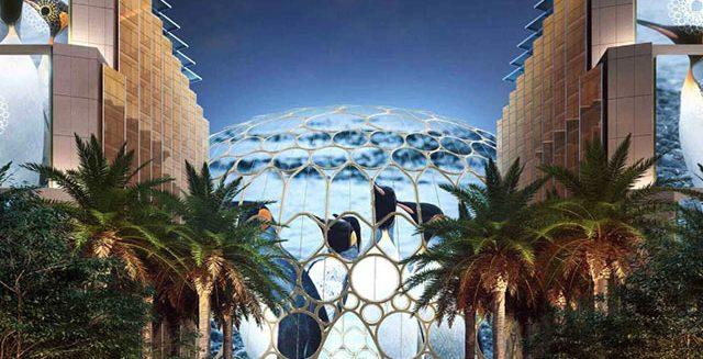 Dubai Expo sketch.