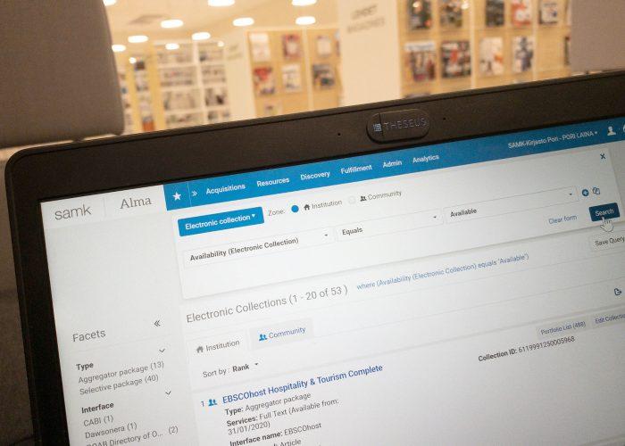 Alma-sivusto, Alma website.