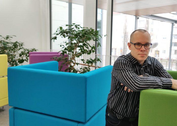 SAMKin digitaalisen palveluliiketoiminnan yliopettaja Heikki Haaparanta