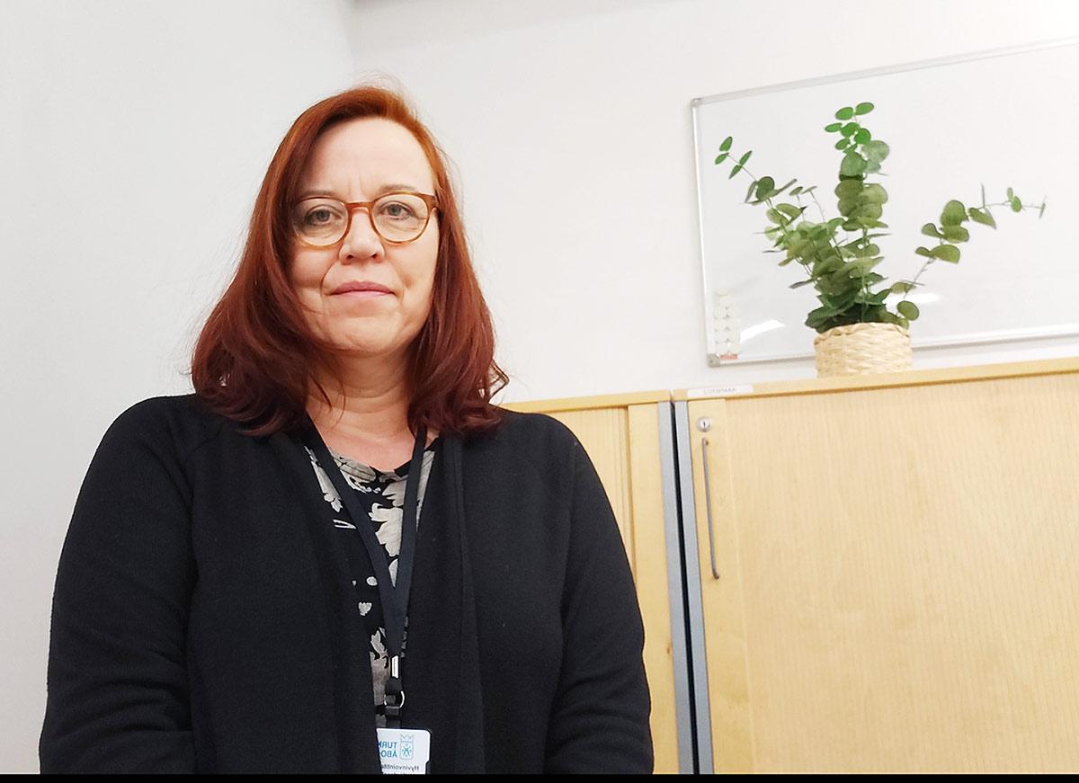 Nina Forsström, vanhustyö /YAMK)