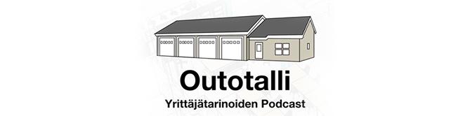Outotalli-podcastin tunnuskuva.