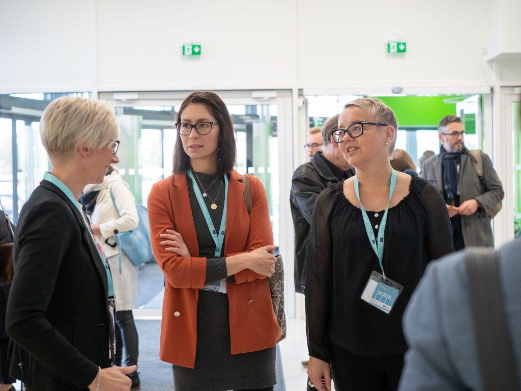 Science Meets Regions conference in SAMK Pori.