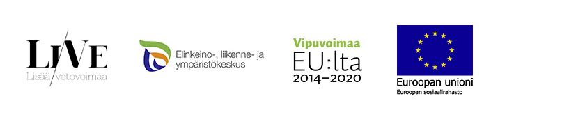 LiVe-hankkeen logoja