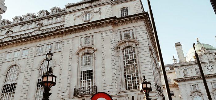 Vanha rakennus Lontoossa