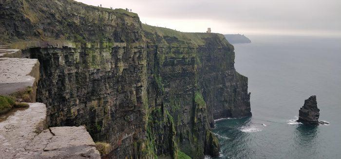 Irlannin jylhiä vuoristomaisemia.