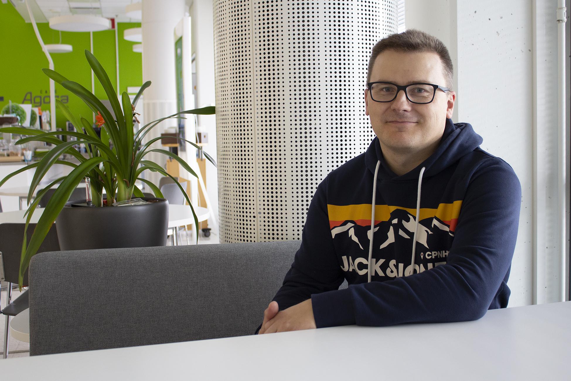 Tutkija Petri Linna, kuvituskuva