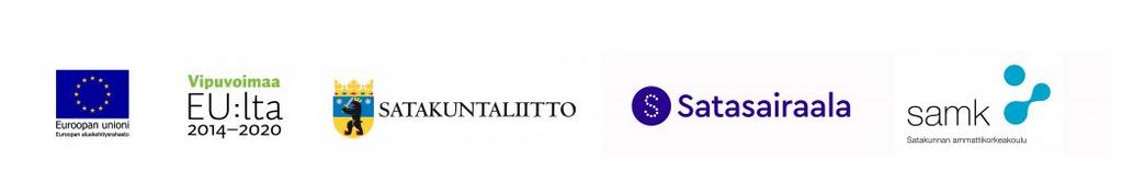 Osallistuvien organisaatioiden logot.