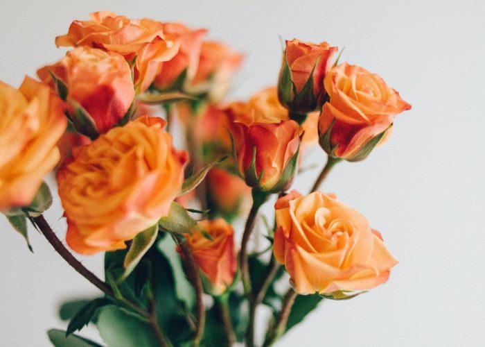 Orange bouquet.