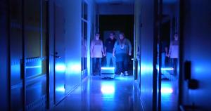 VTR-projektin videossa mobiilirobotti toimii pelastustehtävissä