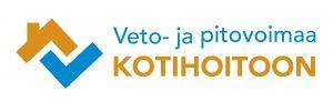 Veto- ja pitovoimaa kotihoitoon -logo.