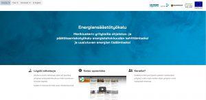 Energiansäästötyökalun etusivu/ Energy saving tool home page